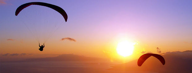 Paragliding in Istria
