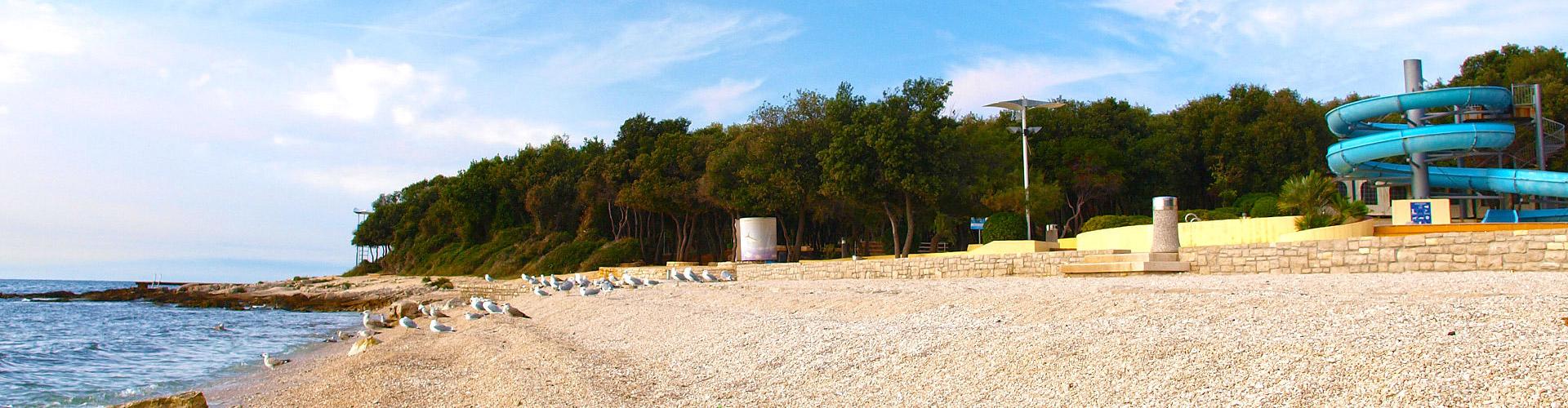Istria sun spiaggia amarin rovinj istria croazia for Alberghi rovigno croazia