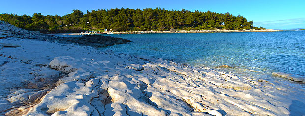 Beach Cape Kamenjak Medulin panorama