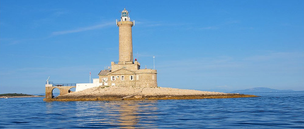 Lighthouses in Istria