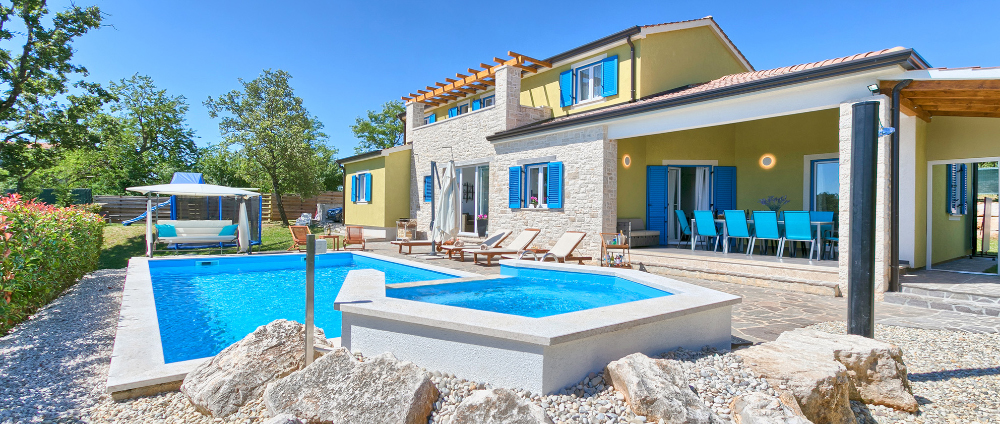 Luxury villas in Istria