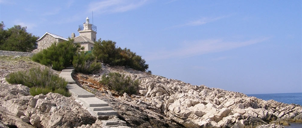 The lighthouse of St. Nicholas - Porec