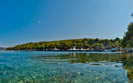 Beaches on the island of Hvar, Dalmatia