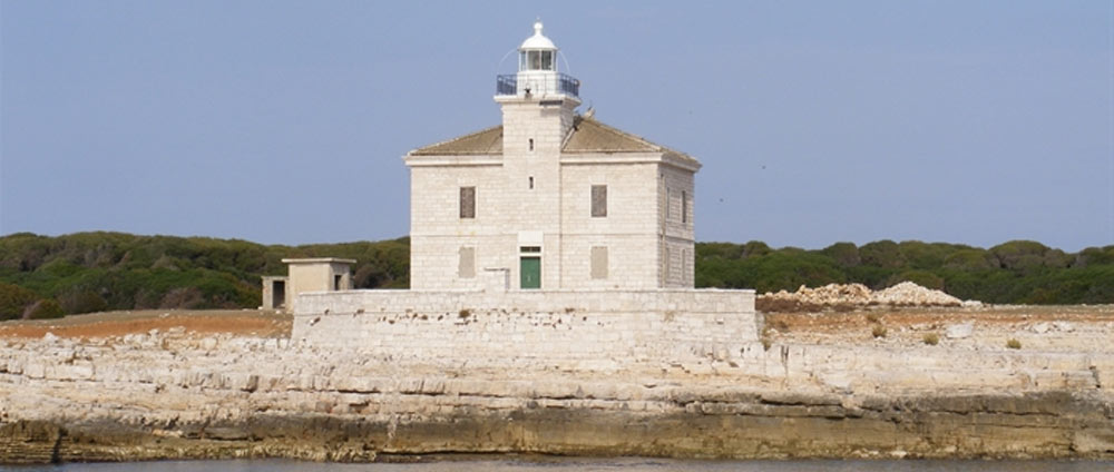 The lighthouse of Cape Peneda - Brioni