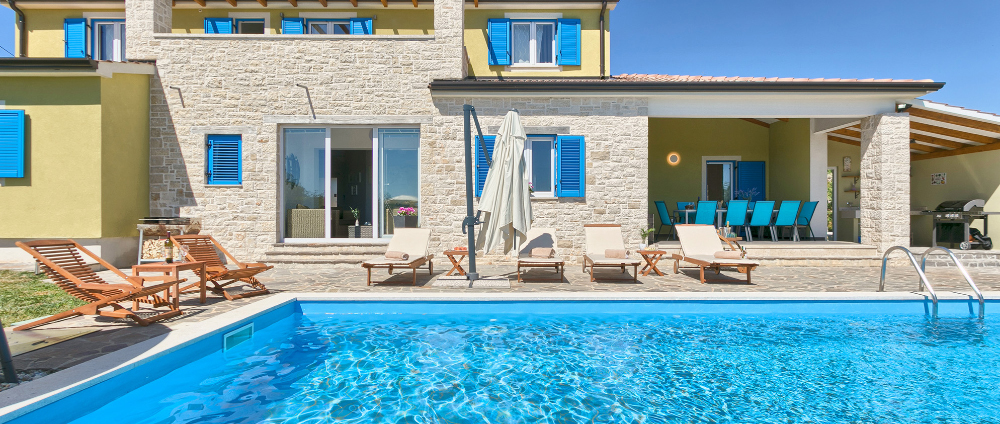 Holiday homes with pool in Istria