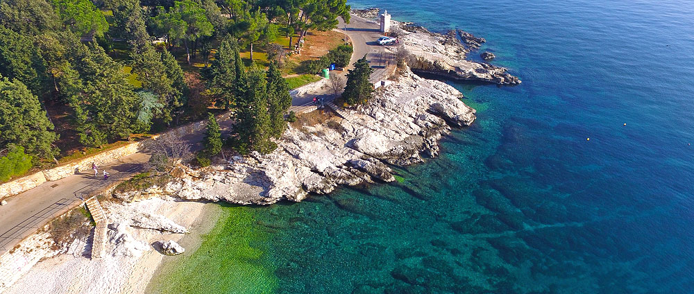 Private accommodation in Rabac, Istria