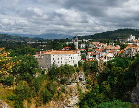 Go to Pazin and visit the castle