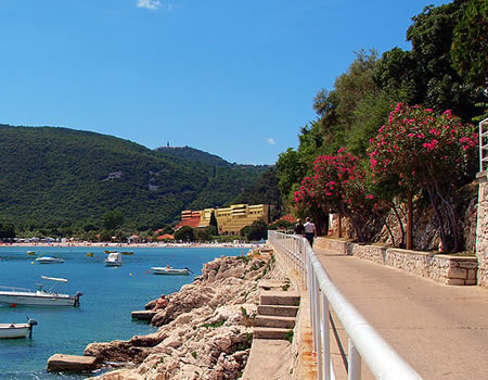 Walking and hiking in Rabac
